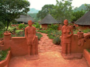Entrance to The Venda Village