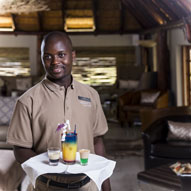 nate Game Lodge - Friendly Staff